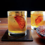 Champagne Blood Orange Old Fashioned