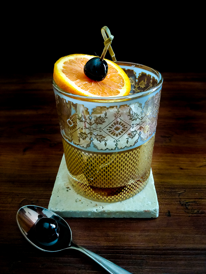 whiskey sour orange garnish